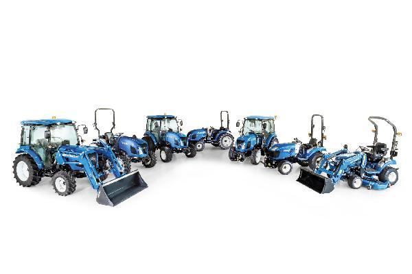 New Holland potencia su oferta de tractores compactos con el lanzamiento de la serie Boomer Fase V